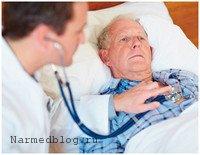 Тяжелый больной отеком легких