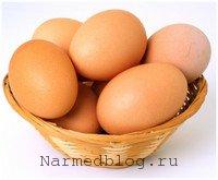 Куриные яйца при простуде