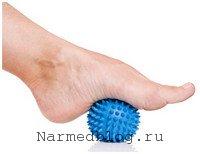 Приспособление для массажа стопы