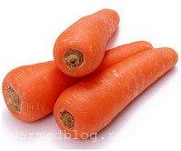 Морковь - источник витамина А