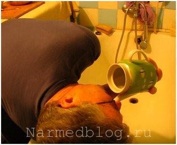 Как промывать нос при синусите у взрослых