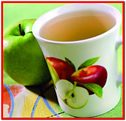 Яблочный напиток с медом