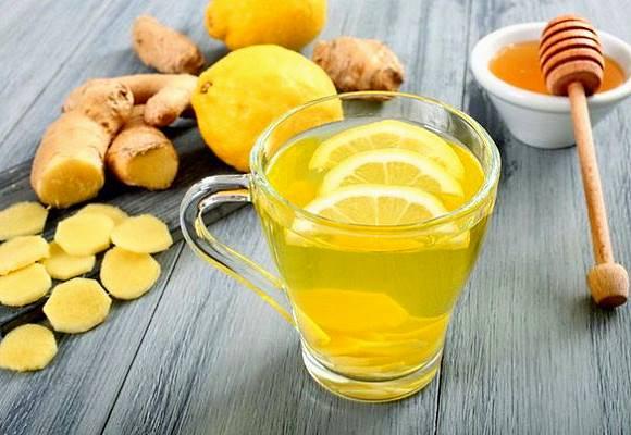 Лимонный сок и имбирь лечат простуду