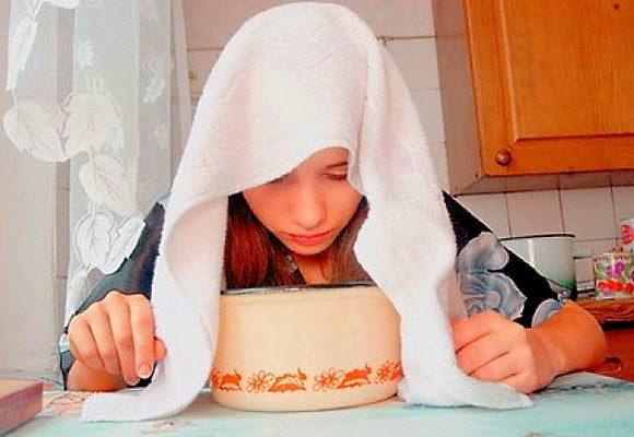 Паровые ингаляции от простуды