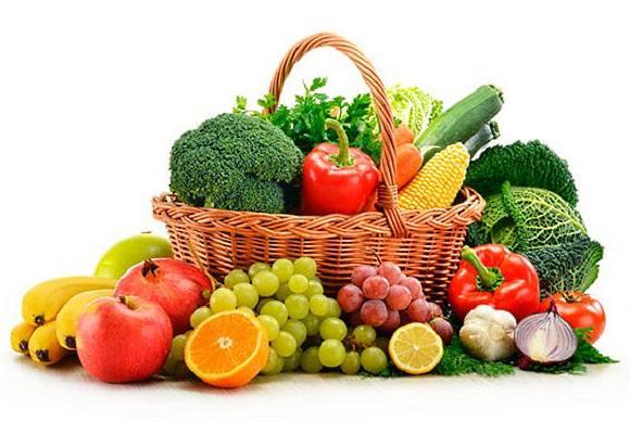 Увеличение в рационе растительных продуктов